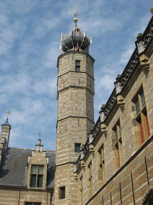 markiezenhof tower bergen op zoom