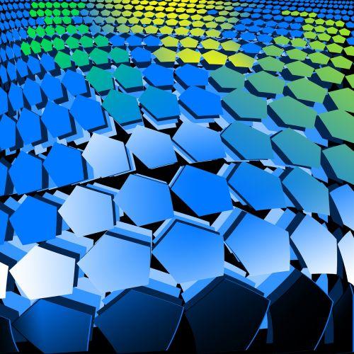 marking net football hexagon
