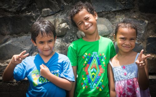 marquesas children french polynesia