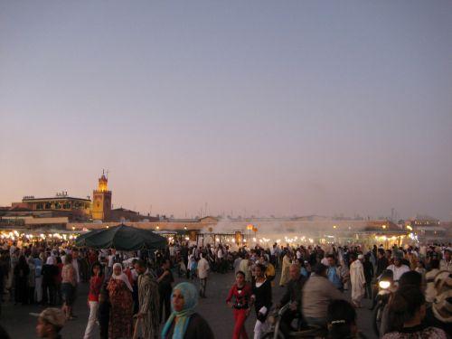 marrakech town center medina