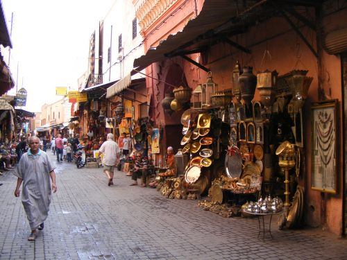 marrakesh lamps souk