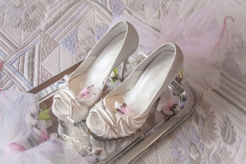 marriage shoes heels