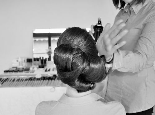 marriage hairdresser milan