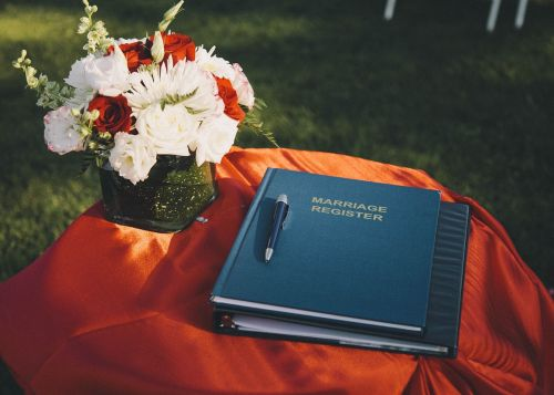 marriage register wedding marriage