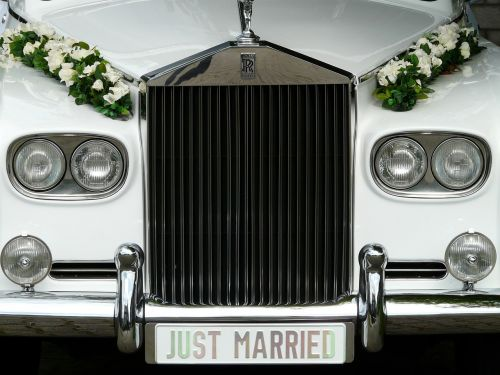 marry bridal car marriage