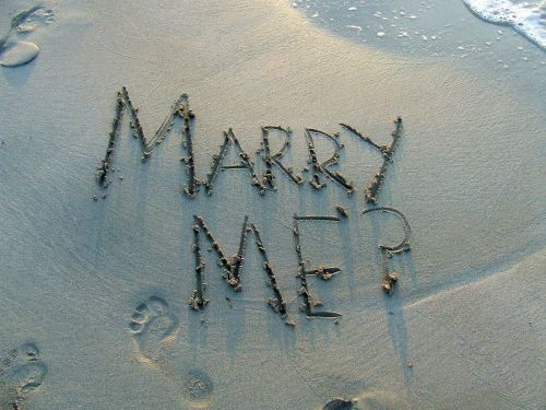 marry me marriage proposal question