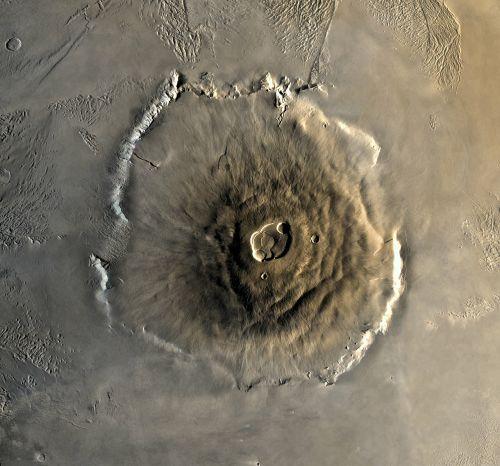 mars planet olympus mons