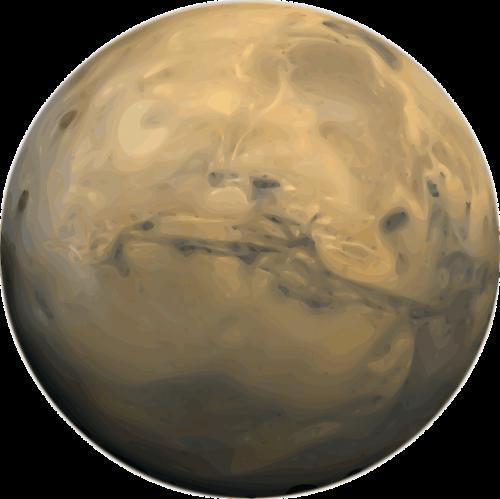 mars solar system planet