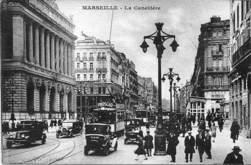 marseille the canebière france
