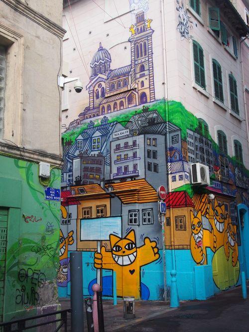 marseille graffiti the 3 kings street