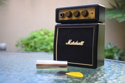 marshall amplifier music