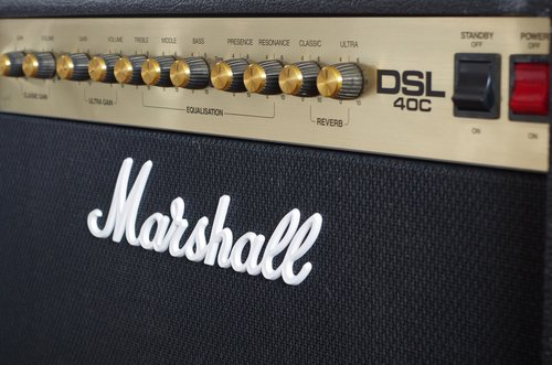 marshall  dsl40c  amplifier