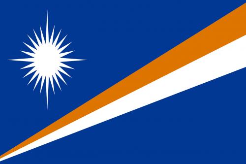 marshall islands flag national flag