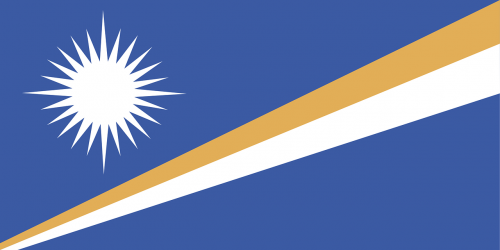 marshall islands flag oceania