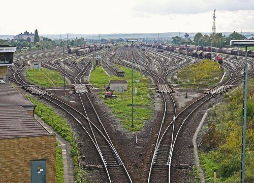 marshalling yard tracks harp kornwestheim