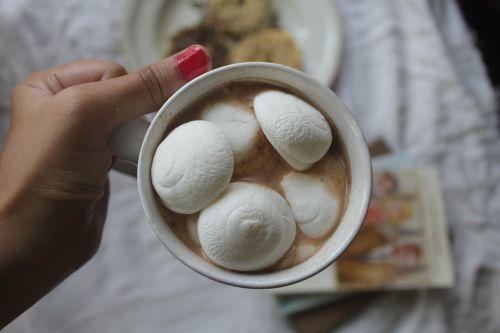 marshmallow chocolate instagram