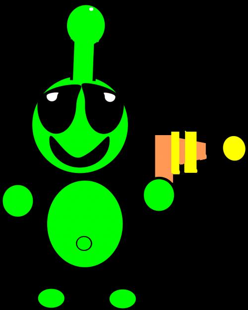 martian alien gun