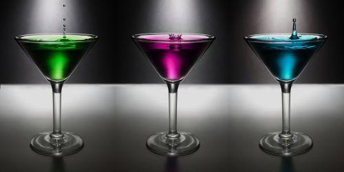 martini drop water