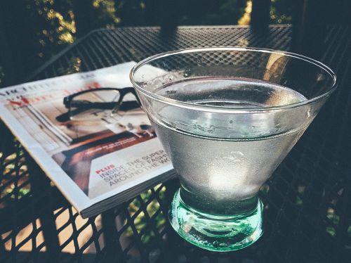 martini drink beverage