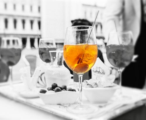 martini glass black and white martini