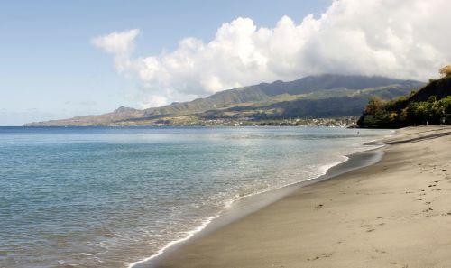 martinique peeled ocean island
