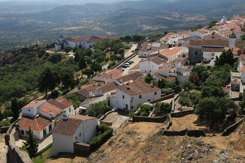 marvão  portugal  medieval village