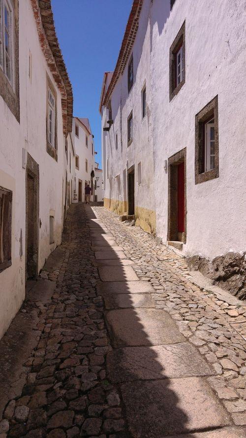 marvão portugal village lane
