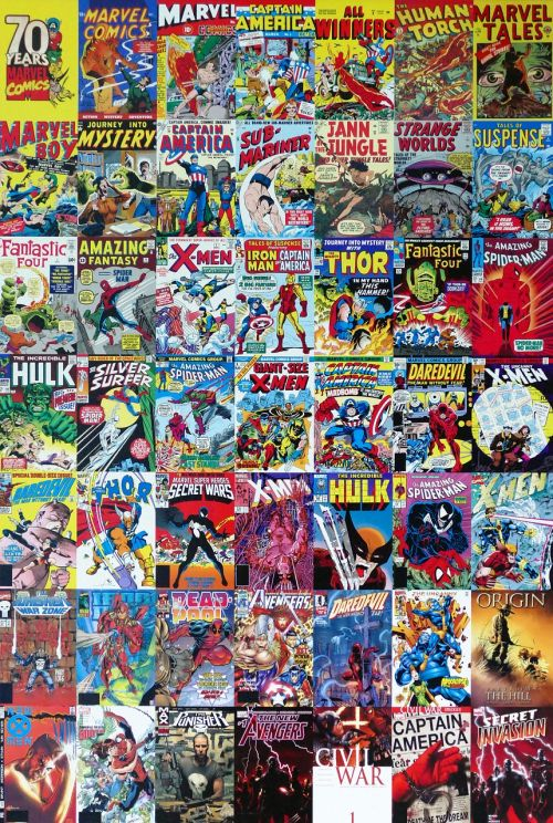 marvel comics cartoon