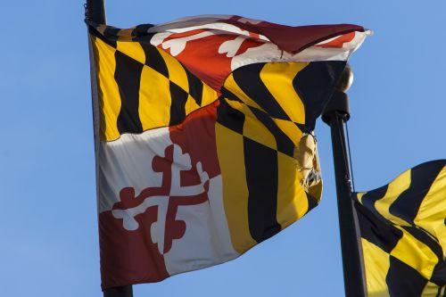 maryland flag pole