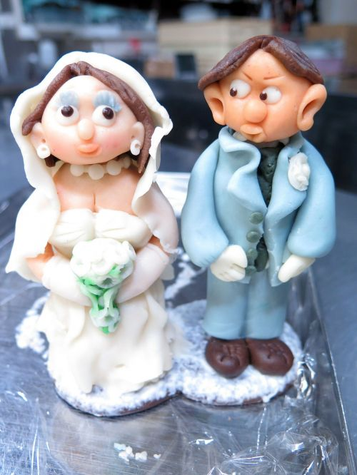 marzipan doll wedding