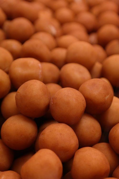 marzipan potatoes spherical sweetness