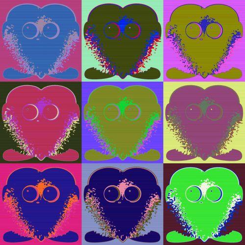 juokinga, spalvos, talismanas, talismanai, stilius, piešimas, talismanų vorko stilius