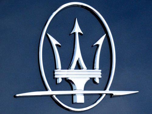 maserati logo car brand