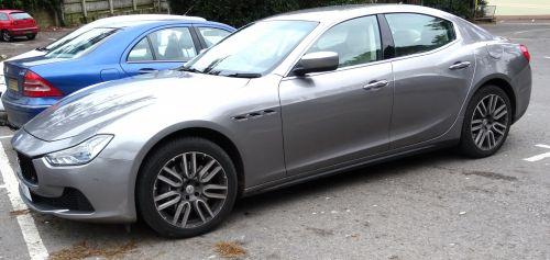 Maserati Saloon Car