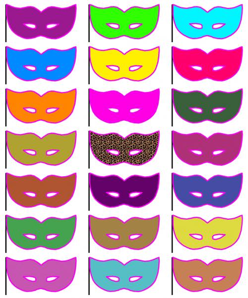 mask masquerade masquerade mask