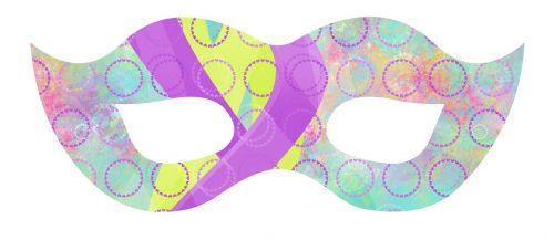 mask costume eye
