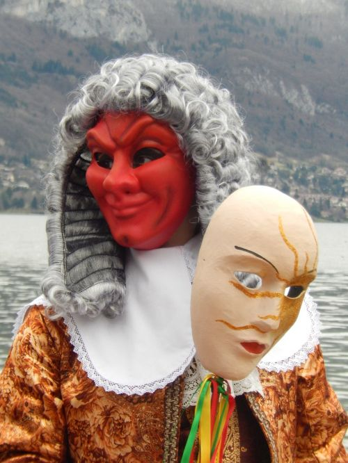 mask carnival annecy disguise