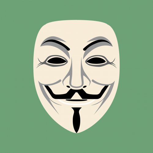 mask anonymous face