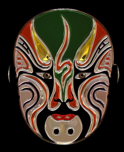 mask metallizer art