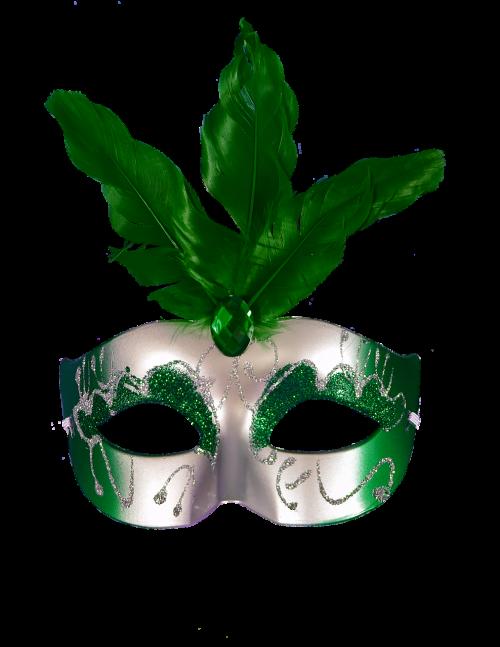 mask green carnival