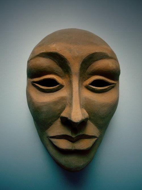 mask female performing arts