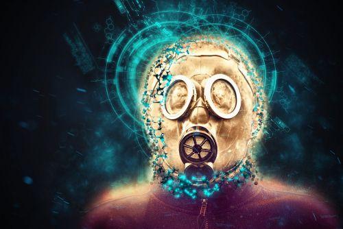 mask post apocalyptic danger