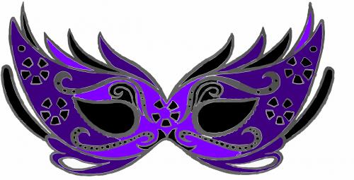 mask eyefold black