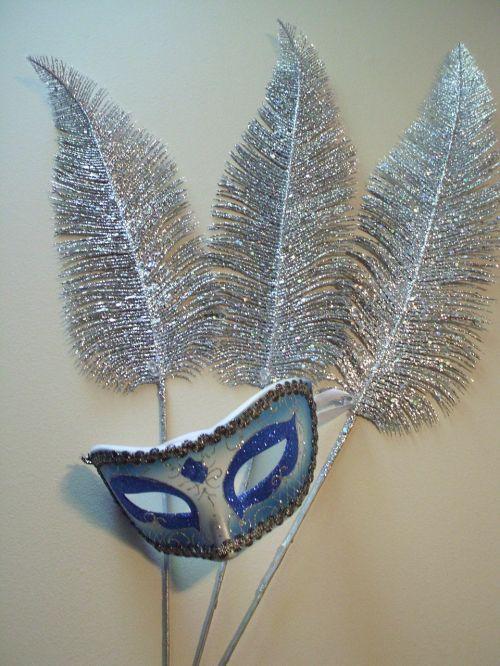 mask feathers masquerade