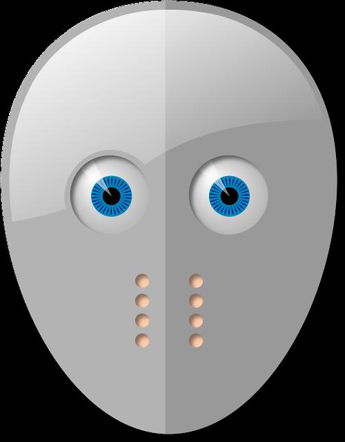 mask hockey eyes