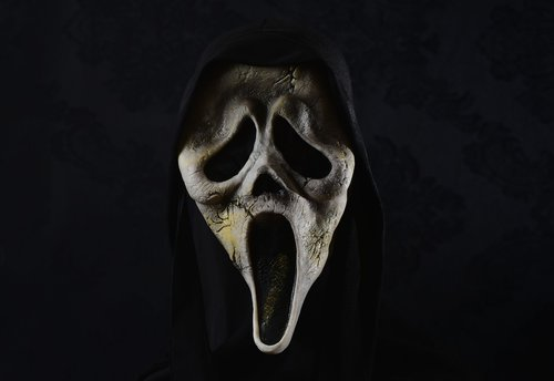 mask  horror  scream