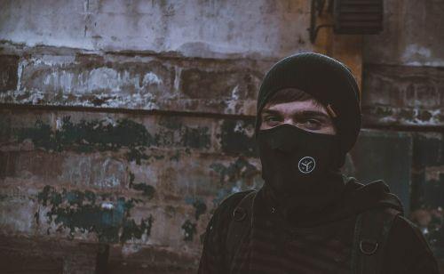 mask portrait cap