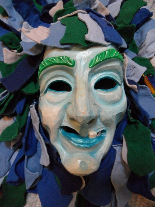 mask face costume