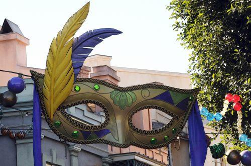 kaukė, kaukes, mardi & nbsp, gras, šventė, mask banner