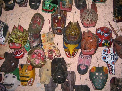 masks guatemala artisan